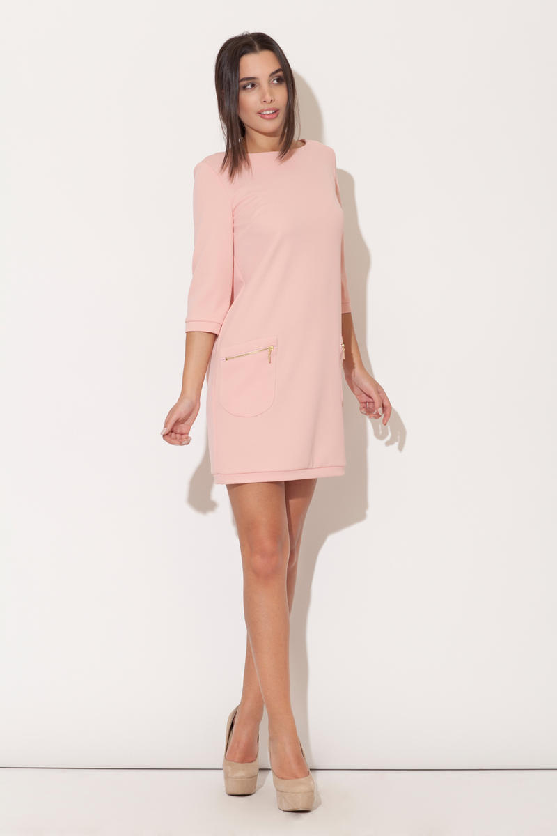 Rochie Pink Modernize Kelly Inspired Mini Dress