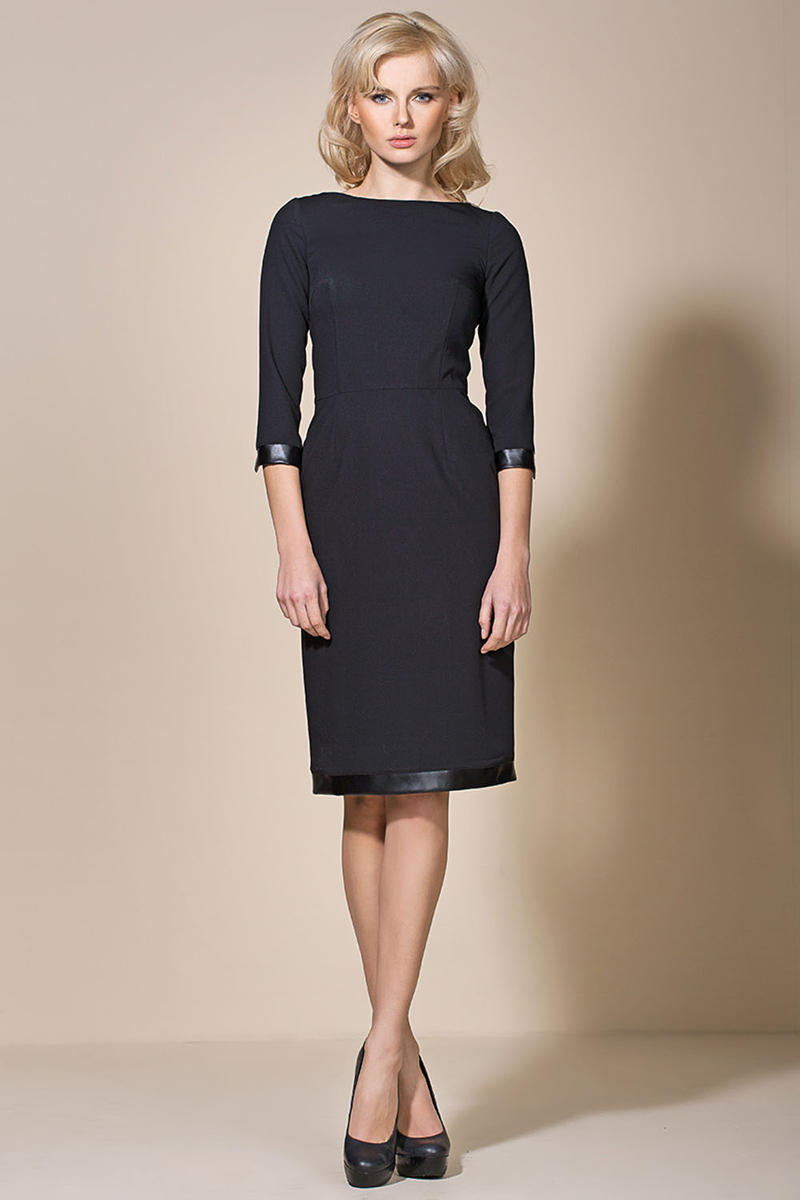 Black Corporate Look Chic Dress