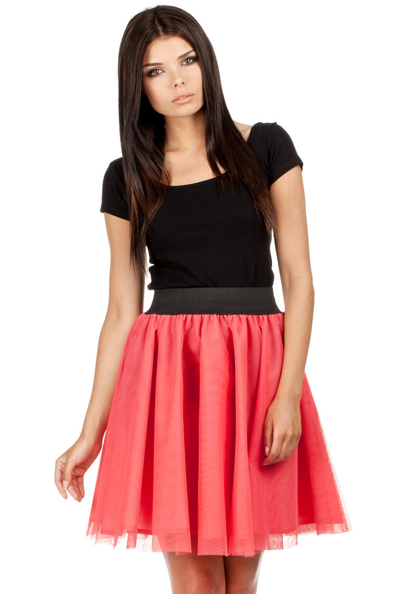 Raspberry Pink Dreamy Princess Tutu Prom Skirt
