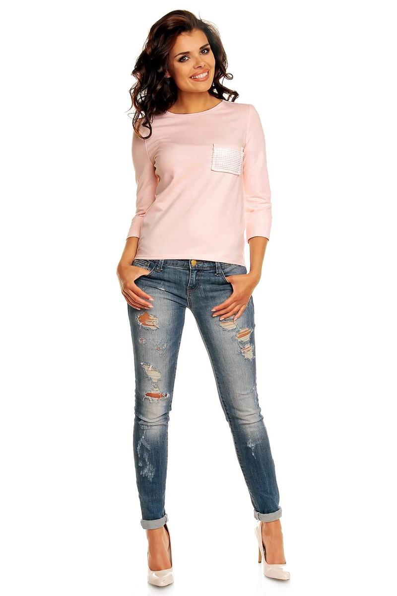 Pink Mullet Shirt with Back Zip Fastening