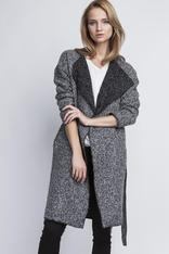 Two tone Trenchcoat in Grey