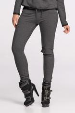 Grey Skinny Trousers with Knee Pocket