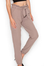 Mocca Bib Waistline Pants with Elasticized Waist