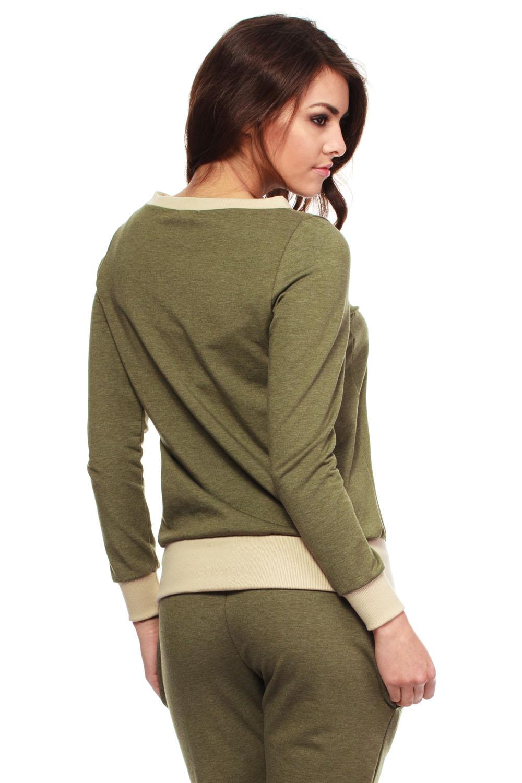 Green Khaki Blouse 117